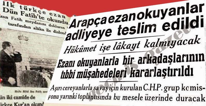 Ezan Türkçe Olur Mu?